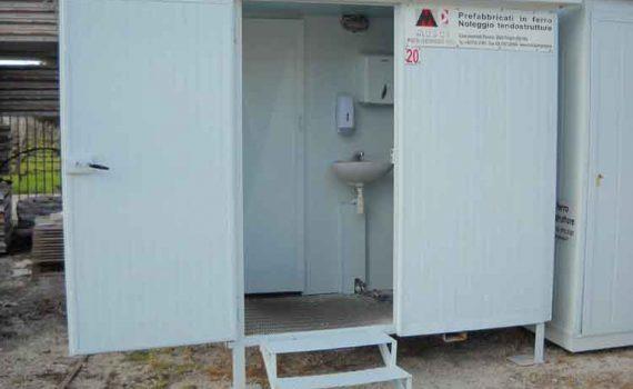 WC U/D Dim. 1 x 3 m.