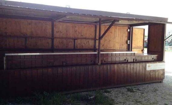 N.1 Esterno Bar 6 x 2,20 m.