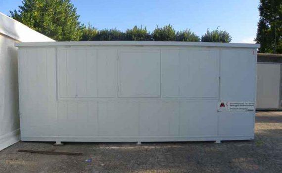 Container lamiera 6 x 2,20 m.
