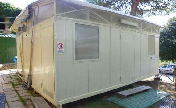 Esterno cucina automatica 6 x 6 m.